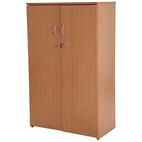 Retro Medium Cupboard - Beech