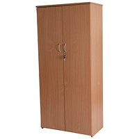 Retro Medium Tall Cupboard - Beech