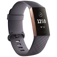 Fitbit Charge 3 Blue Grey/Rose-Gold Aluminium FB409RGGY-EU