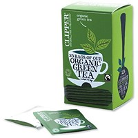 Clipper Green Tea Bags Pack of 25