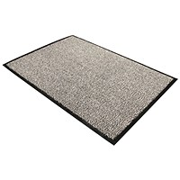 Floortex Door Mat, Dust & Moisture Control, Polypropylene, 1200mmx1800mm, Grey
