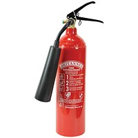 Fire Extinguisher Carbon Dioxide 2 kg
