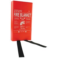 Fire Blanket Fibreglass 1800x1200mm