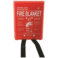 Fire Blanket Fibreglass 1000x1000mm
