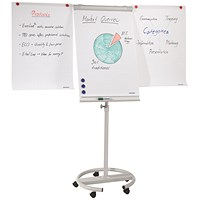 Franken ECO Flipchart Easel, 2 Arm Extensions, Mobile, Magnetic
