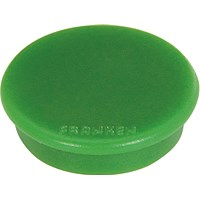 Franken Magnet, 38mm, Green, Pack of 10