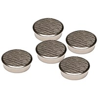 Franken Chrome Magnets, 16mm, Pack of 5