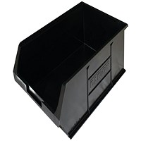 Barton Topstore Container TC5 Recycled (Pack of 10) Black 010058