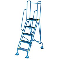 Fort Mobile Steps 5 Tread Full Handrail WS515
