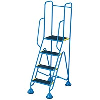Fort Mobile Steps 3 Tread Full Handrail WS513