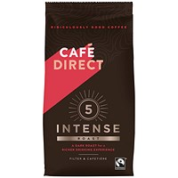 Cafe Direct Intense Rich Roast Ground Coffee - 227g