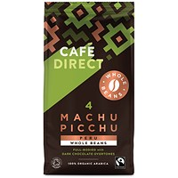 Cafedirect Machu Picchu Whole Coffee Beans 227g