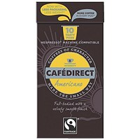 Cafe Direct Nespresso Compatible Coffee Pods, Americano, Pack of 100