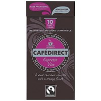 Cafe Direct Nespresso Compatible Coffee Pods, Vivo, Pack of 100