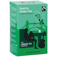 London Tea Company Sencha Green Tea (Pack of 20)