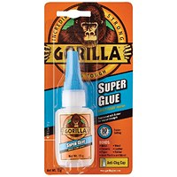 Gorilla Super Glue 15g (Bonds wood, paper, metal, ceramic, rubber and more) 4044201
