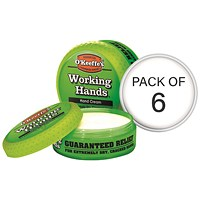 O'Keeffe's Working Hands Cream 96g (Pack Of 6) 7044001