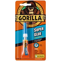 Gorilla Super Glue Waterproof 3g Tube
