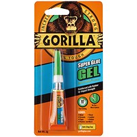Gorilla Super Glue Gel 3g