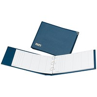 Guildhall Loose-Leaf Visitors Book, A4, 3-Ring Binder, 50 Sheets