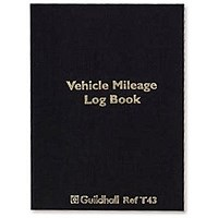 Exacompta Guildhall Vehicle Mileage Log Book