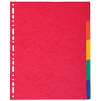 Exacompta Pressboard Dividers 5-Part A4 Maxi