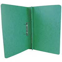 Exacompta Transfer Files, 285 gsm, Foolscap, Green, Pack of 25