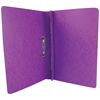 Exacompta Transfer Files, 285 gsm, Foolscap, Lilac, Pack of 25