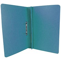 Exacompta Transfer Files, 285 gsm, Foolscap, Blue, Pack of 25