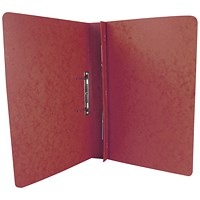 Exacompta Transfer Files, 285 gsm, Foolscap, Red, Pack of 25