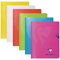 Clairefontaine Mimseys Notebook A4 Assorted (Pack of 10)