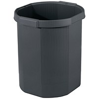 Exacompta Forever Waste Bin Black