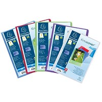 Exacompta Kreacover Display Book 20 Pocket A4 Assorted (Pack of 20)