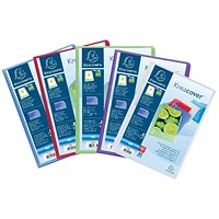 Exacompta Kreacover Display Book 30 Pocket A4 Assorted (Pack of 12)