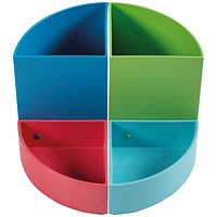 Exacompta Carbon Neutral Pen Pot Multicoloured