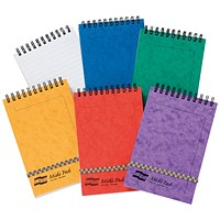 Clairefontaine Europa Midi Notepad 152x102mm Assortment A (Pack of 10)