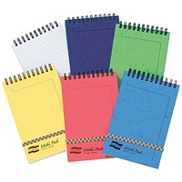 Clairefontaine Europa Midi Notepad 152x102mm Assortment C (Pack of 10)