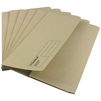 Guildhall Document Wallets, Foolscap, Buff, Pack of 50
