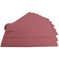 Guildhall Document Wallets, Foolscap, Pink, Pack of 50