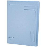 Guildhall A4 Slipfile, Blue, Pack of 50