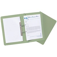 Guildhall Transfer Files, 315gsm, Foolscap, Green, Pack of 50