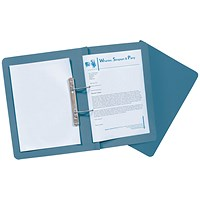 Guildhall Transfer Files, 420gsm, Foolscap, Blue, Pack of 25