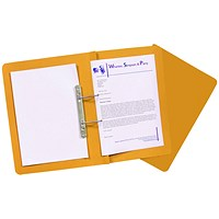 Guildhall Transfer Files, 420gsm, Foolscap, Orange, Pack of 25