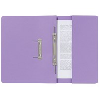 Guildhall Pocket Transfer Files, 285gsm, Foolscap, Mauve, Pack of 25