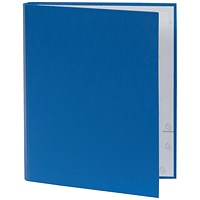Guildhall Ring Binder, A4, 2 O-Ring, 30mm Capacity, Blue, Pack of 10