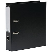 Guildhall A4 Lever Arch Files, Black, Pack of 10