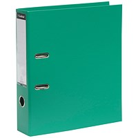 Guildhall A4 Lever Arch Files, Green, Pack of 10