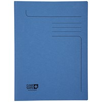 Exacompta Clean Safe 2 Flap Folders A4 (Pack of 5)