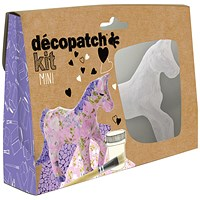 Decopatch Mini Kit Horse (Pack of 5)