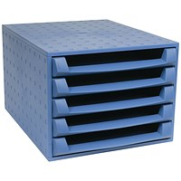 Forever Blue 5-Drawer Set (W284 x D387 x H218mm)